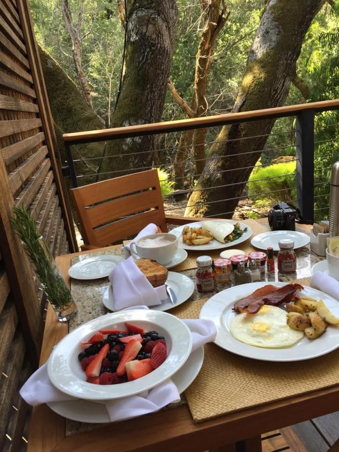 calistoga ranch breakfast